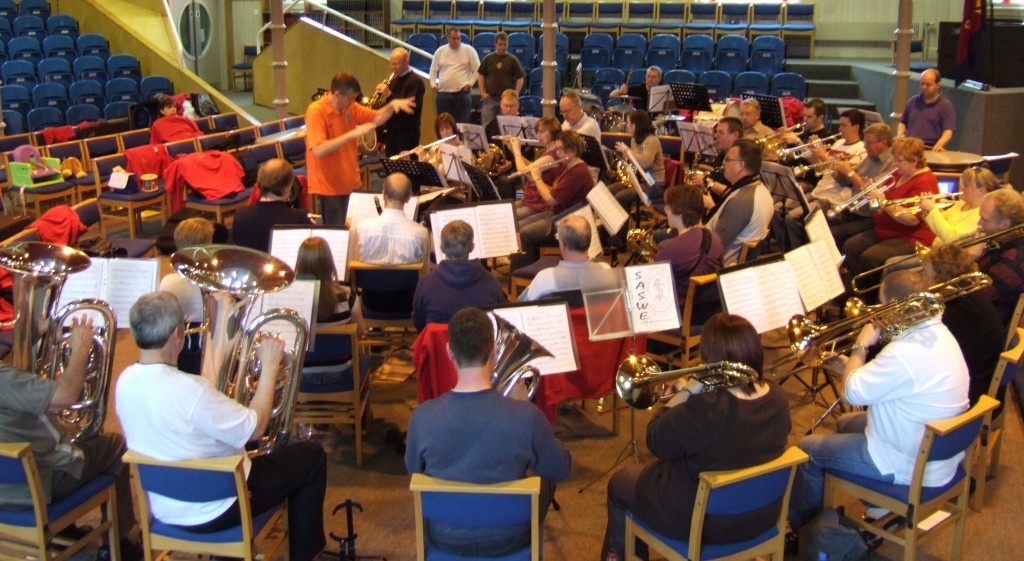 SASWE Rehearse at Newcastle Temple